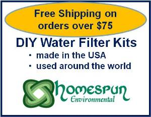 Emergency Water Filter Kit